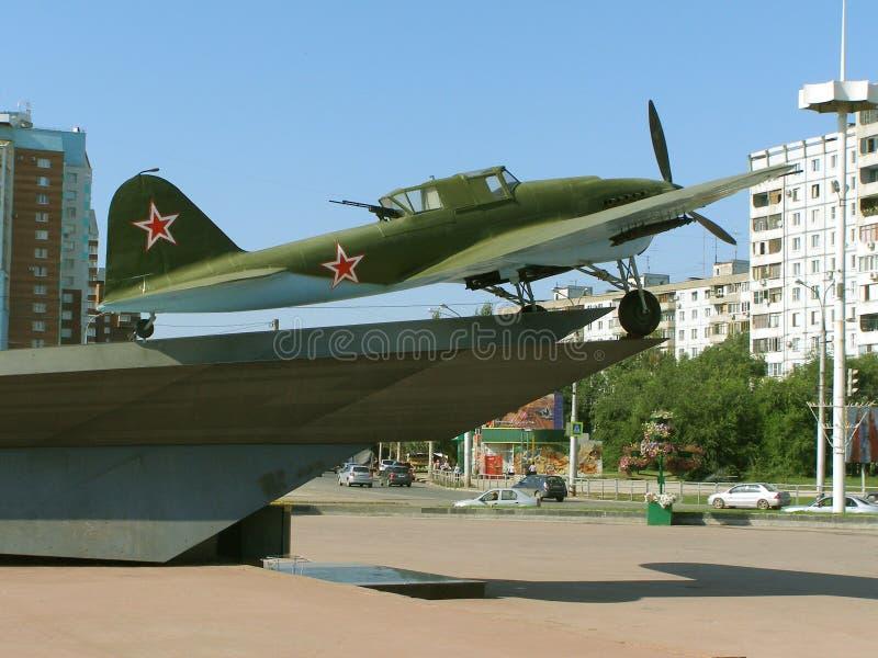 Flugzeuge des zweiten Weltkriegs stockfotografie