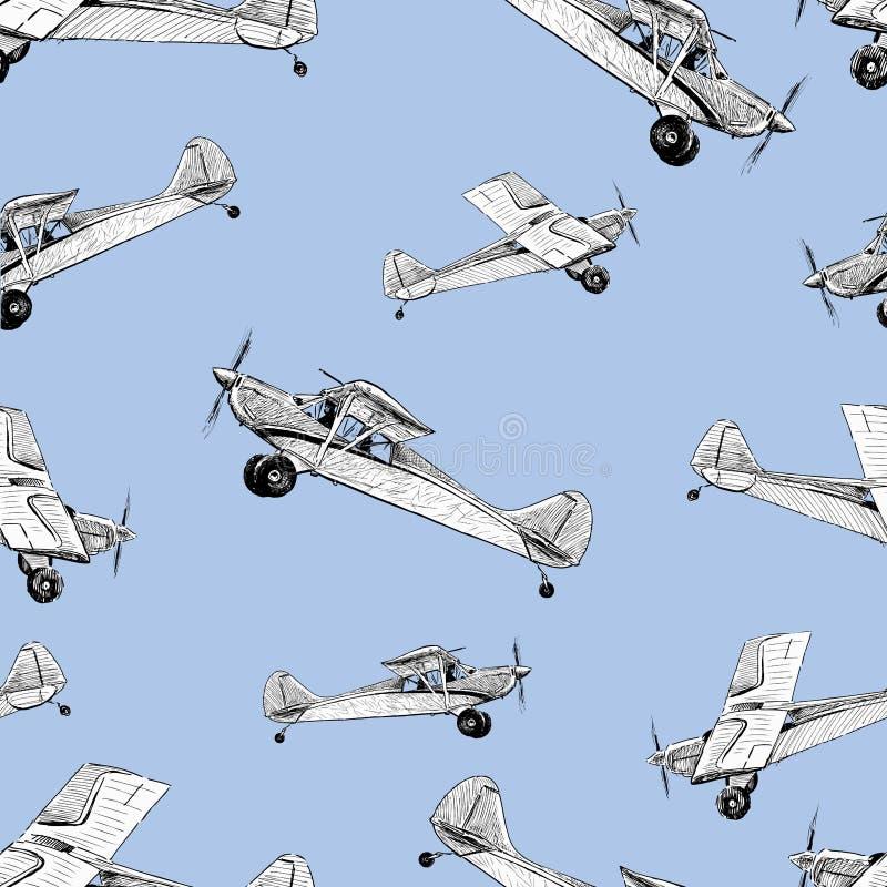 Flugzeuge im Flug vektor abbildung