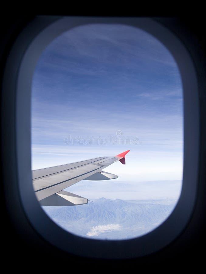 Flugzeugfenster stockfoto. Bild von transport, öffnung - 10604950