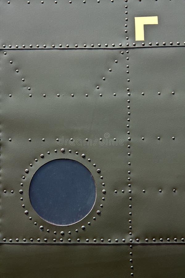 Flugzeughautdetail lizenzfreies stockfoto
