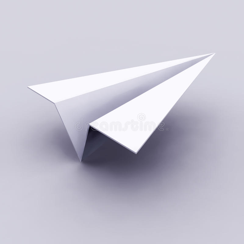 Flugzeugikone stock abbildung