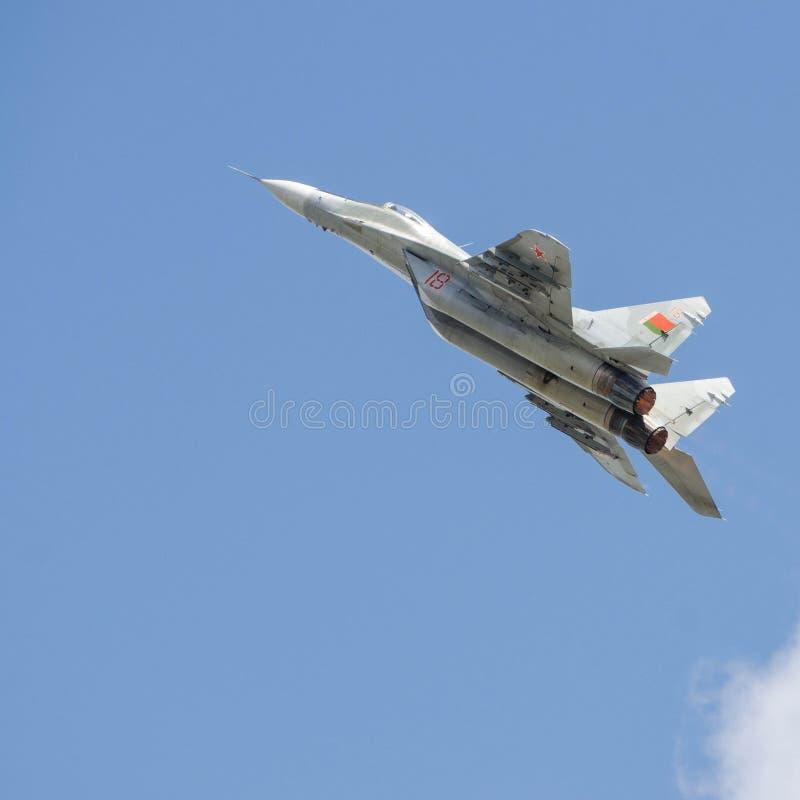 Flugzeugmilitär lizenzfreies stockbild