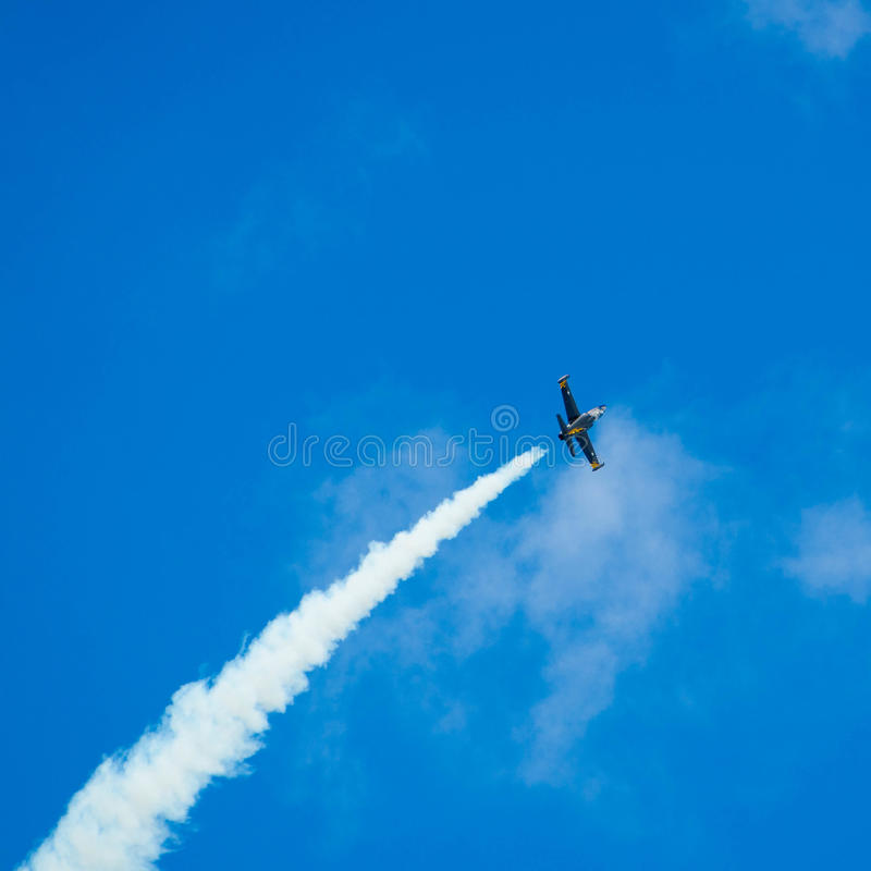 Flugzeugmilitär stockfotografie