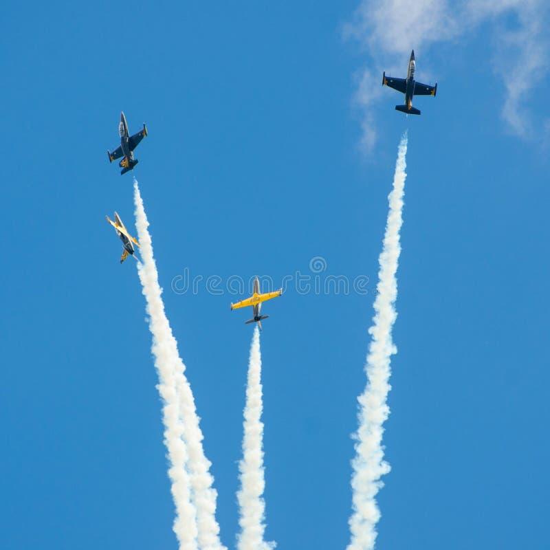 Flugzeugmilitär stockbilder