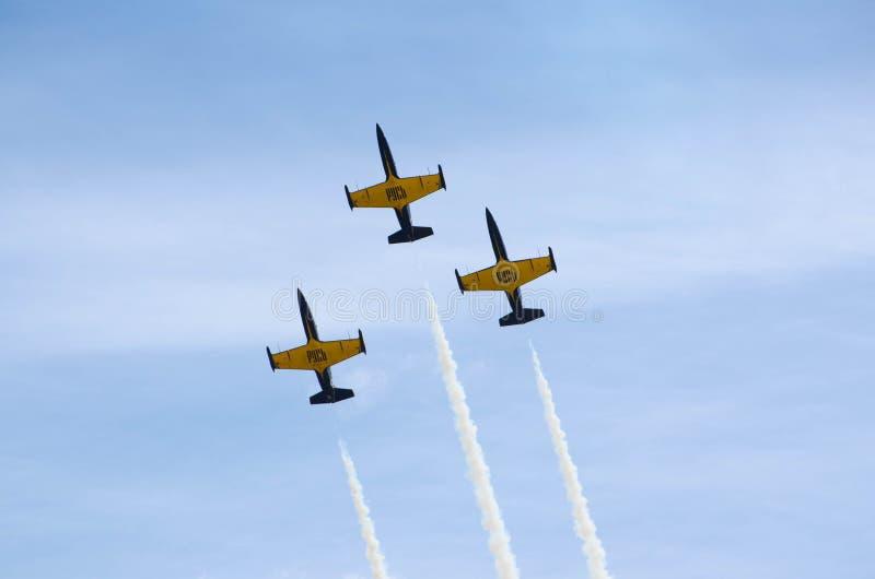 Flugzeugmilitär lizenzfreies stockfoto