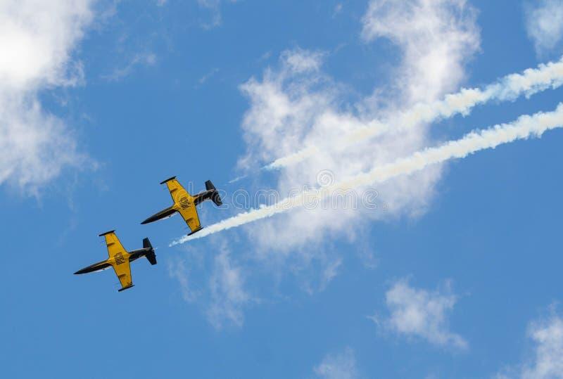 Flugzeugmilitär lizenzfreie stockfotografie