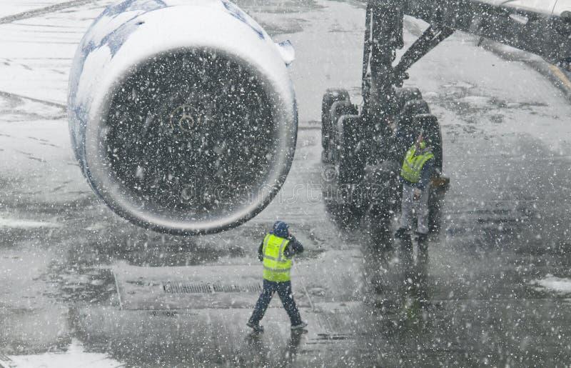 Flugzeugmotor lizenzfreie stockfotos