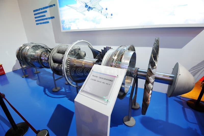 Download Flugzeugmotordetail redaktionelles stockfoto. Bild von hydraulisch - 27734943