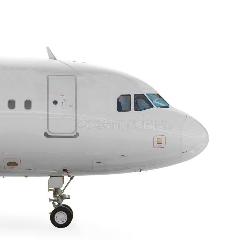 Flugzeugnase lizenzfreies stockfoto