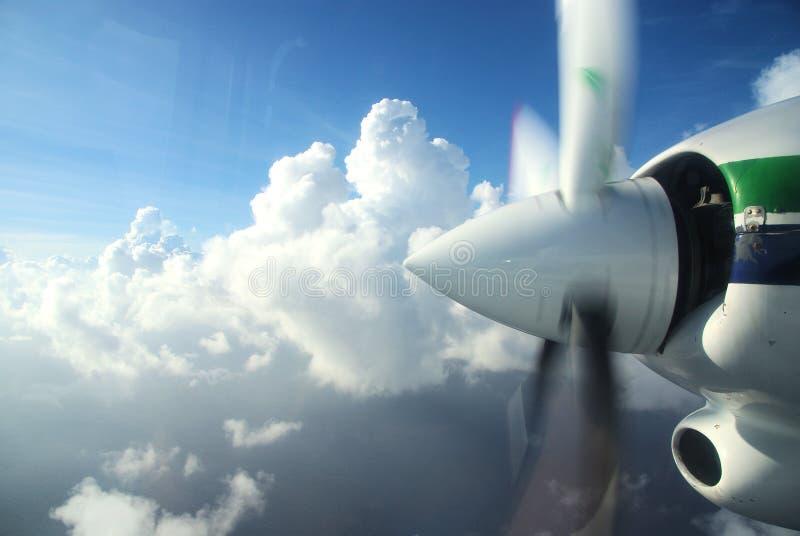 Flugzeugpropeller lizenzfreies stockbild