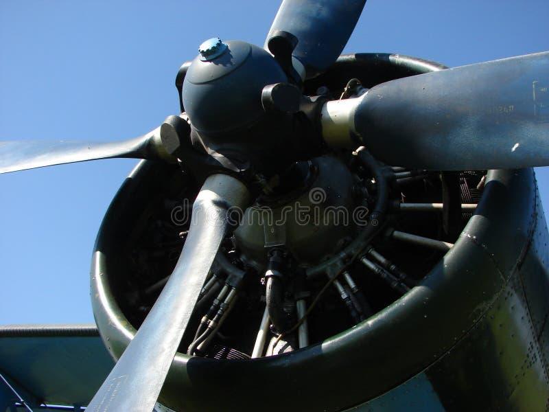 Flugzeugpropeller stockfoto