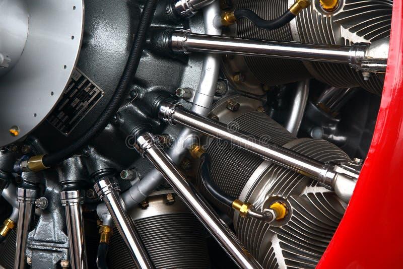 Flugzeugradialmotor stockfotos