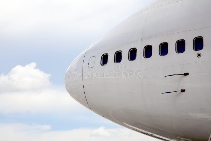 Flugzeugwekzeugspritze lizenzfreies stockfoto