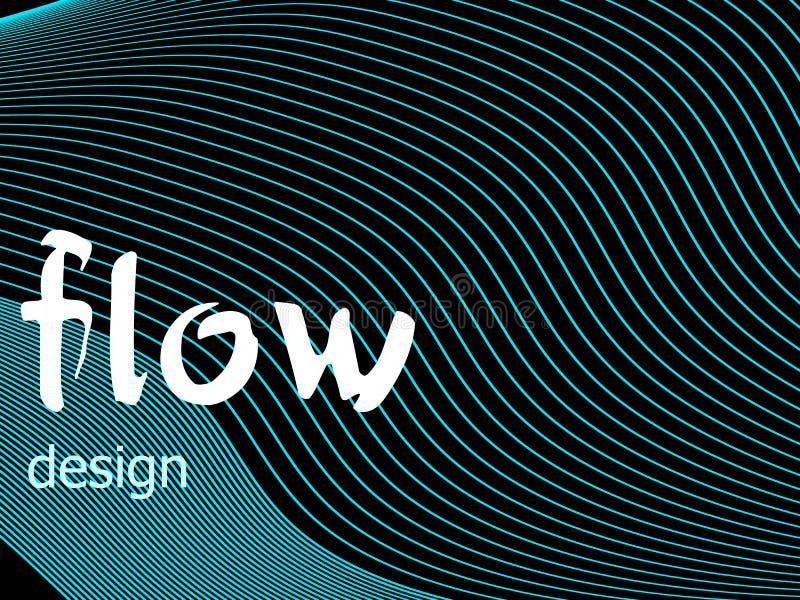 Fluid colorful texture on dark background. Flow shapes design. Liquid wave background. Abstract 3d flow shape. Fluid colors. Fluid colorful texture on dark vector illustration