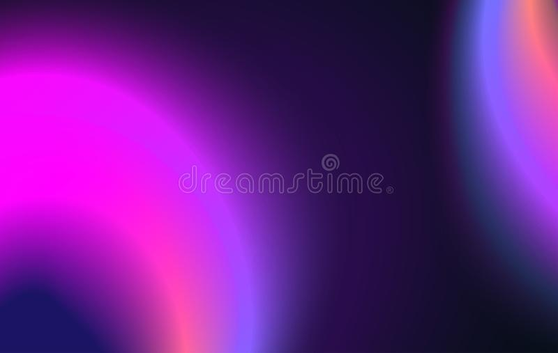 Fluid neon color cover. Abstract gradient liquid shape. Vector illustration stock illustration