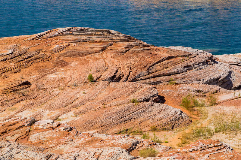 Download Fluid and solid waves stock image. Image of arid, powell - 42910227