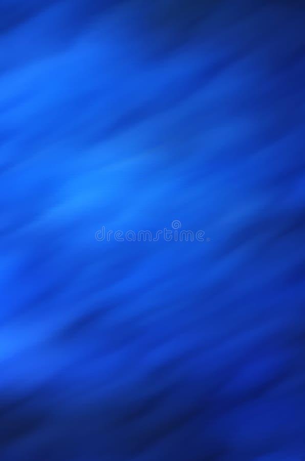 Fluidez azul foto de stock royalty free