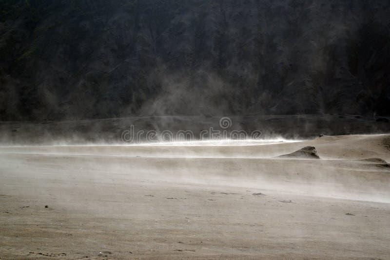 Fluisterend zand stock fotografie