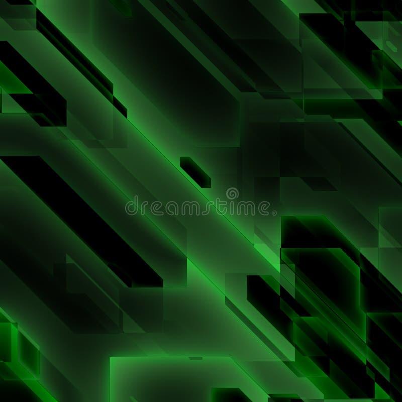Flujo de datos verde libre illustration