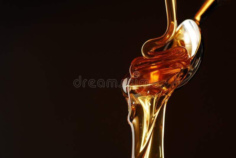 Flujo de la miel imagen de archivo libre de regalías