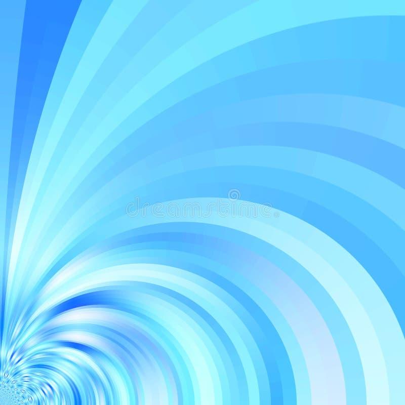 Flujo de seda ilustración del vector
