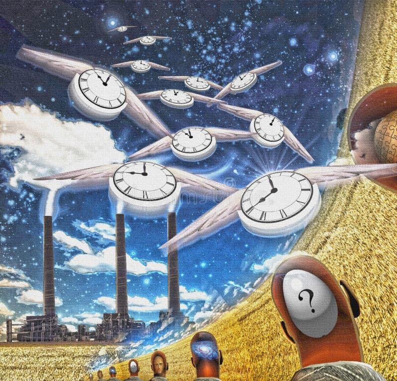 Flujo de tiempo libre illustration