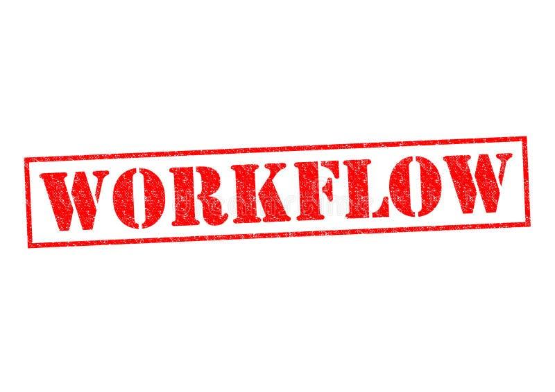 Flujo de trabajo ilustración del vector