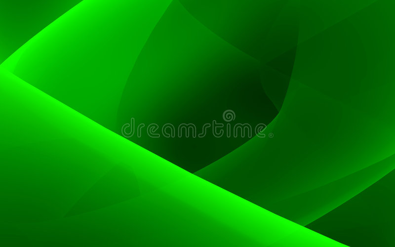 Flujo verde stock de ilustración