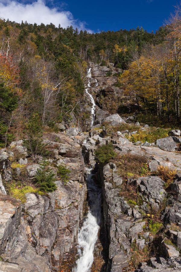 Free Flume Cascade, Crawford Notch State Park Stock Photos - 40941393