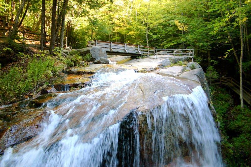 The Flume, New Hampshire stock photo