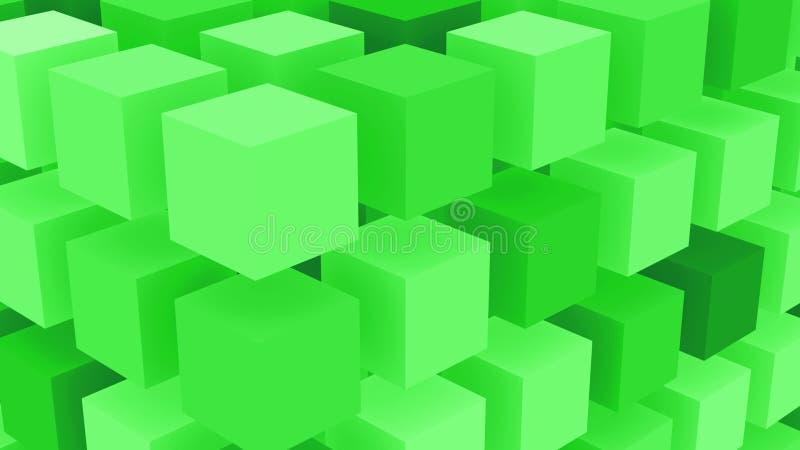 Fluo zieleń Boksuje tło ilustracji