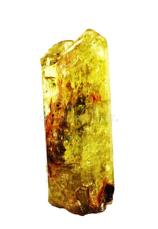 fluorapatite krystaliczny klejnot zdjęcia royalty free