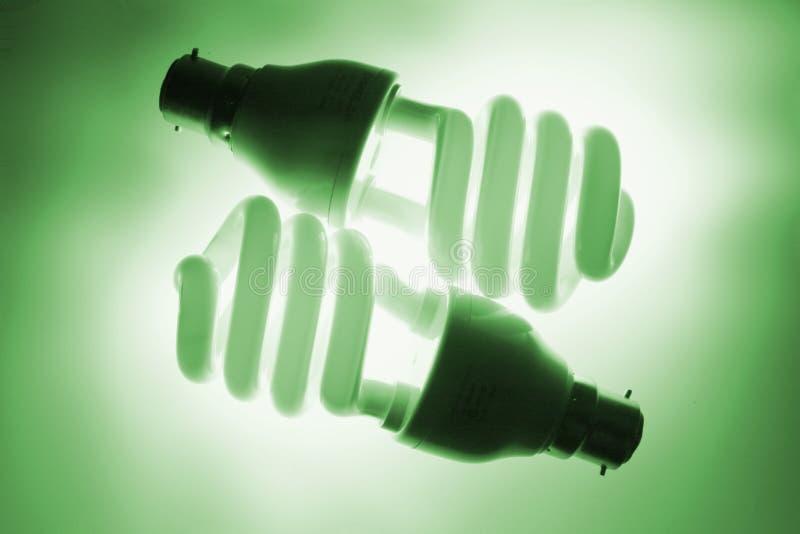 fluorescencyjny światła żarówki fotografia royalty free
