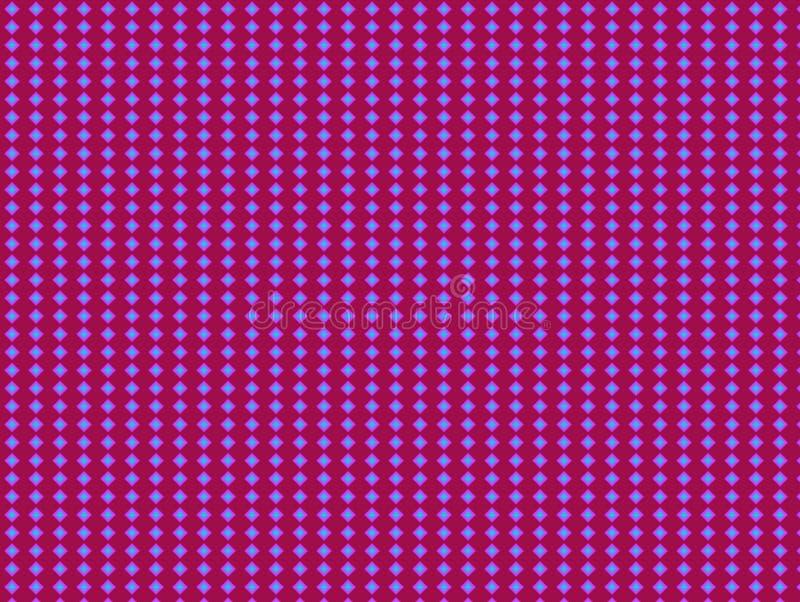 Fluorescencyjny amaranth głęboki fioletowy i niebieski tapeta z powtarzającymi się cyframi wzór hombusa Krótkoterminowe wydruki ilustracji