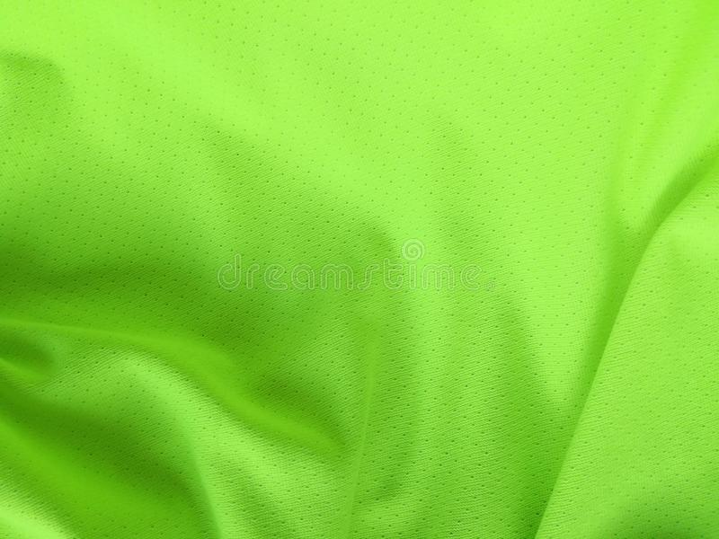 Fluorescent green canvas background royalty free stock photo
