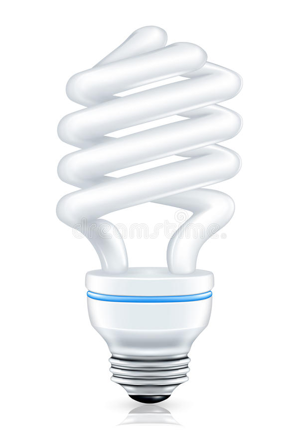 Download Fluorescent lamp stock vector. Image of glass, lamp, ideas - 14044051
