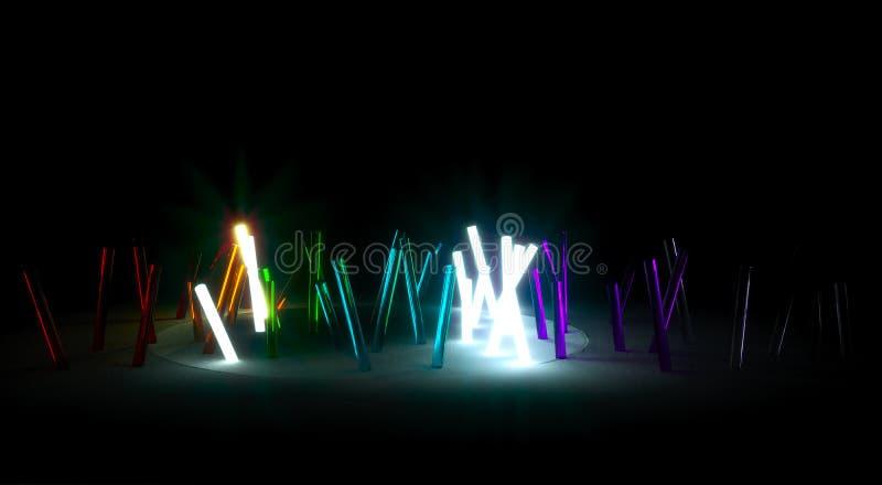 Fluorescent Light Stock Photography