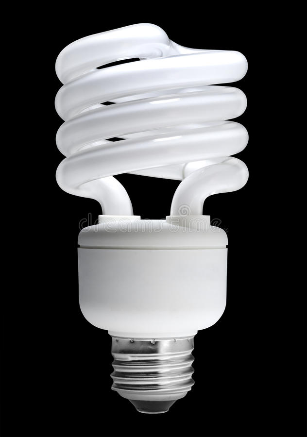 Download Fluorescent Light Bulb, Isolated Stock Photos - Image: 20844583