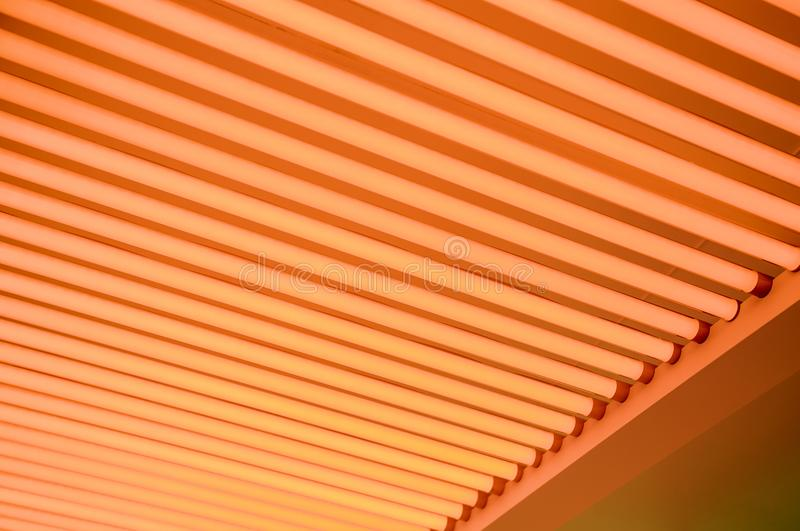 Fluorescent lights. Lighting detail royalty free stock images