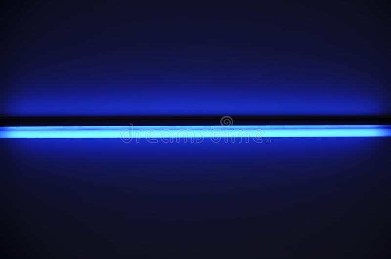 Download Fluorescent tube stock image. Image of blue, glowing - 14322901