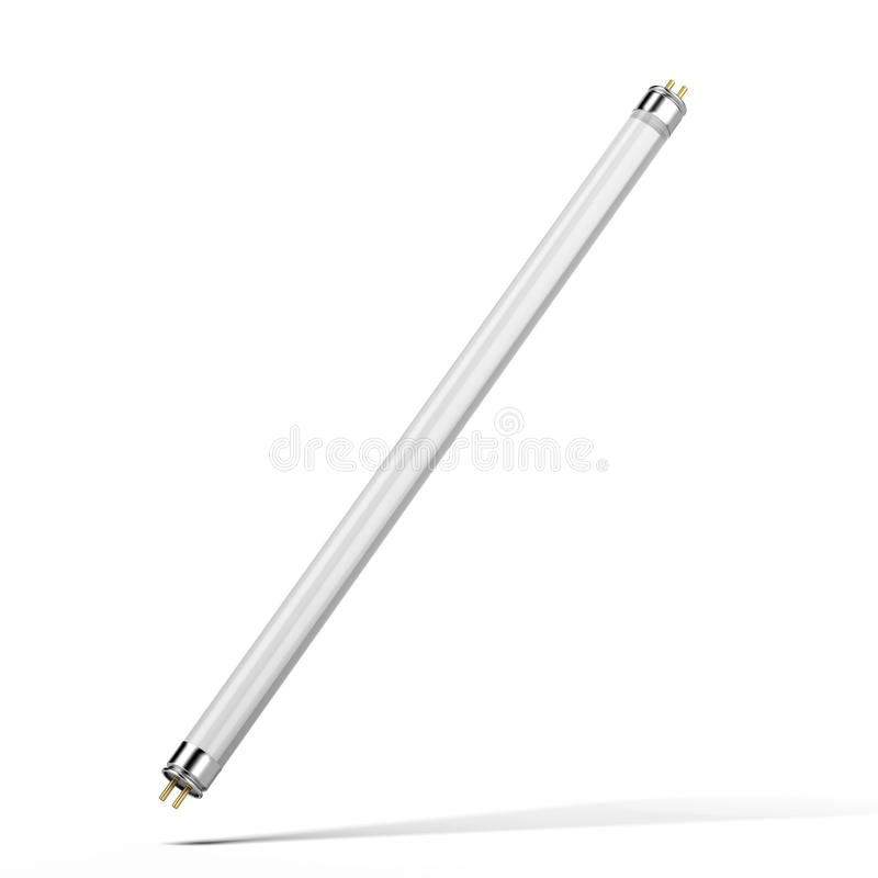 Fluorescent tube lamp royalty free stock images