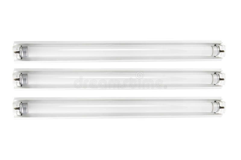 Fluorescent Tubes royalty free stock images