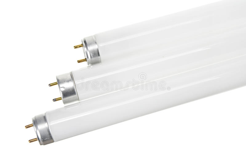 Fluorescent Tubes stock photography