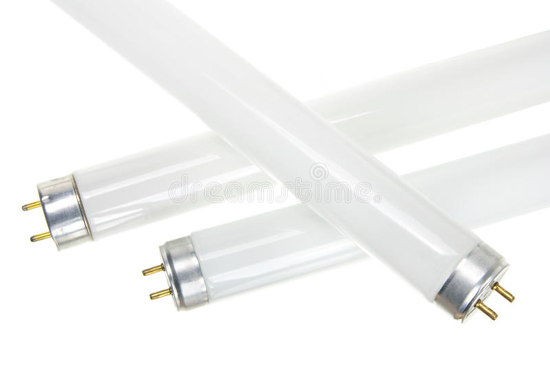 Fluorescent Tubes stock image