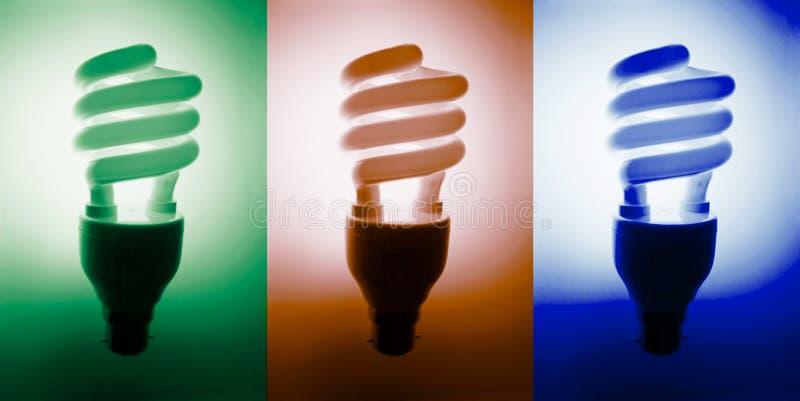 Fluorescente Bollen stock afbeelding