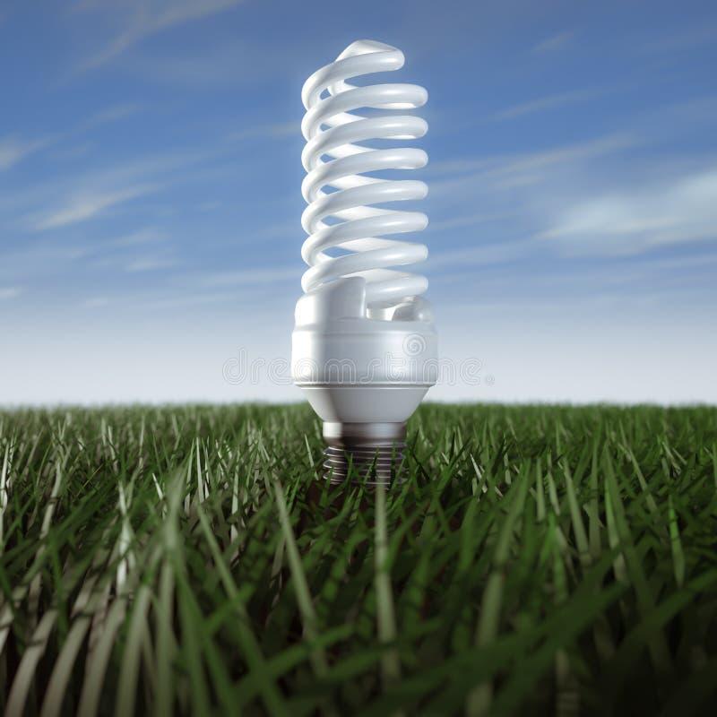 Fluorescente lamp vector illustratie