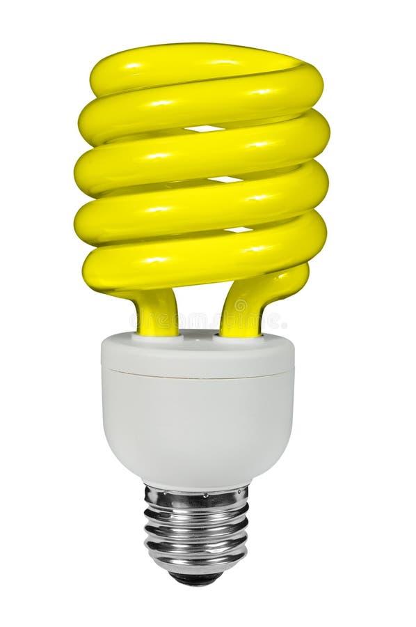 fluorescerande lightbulb royaltyfria foton