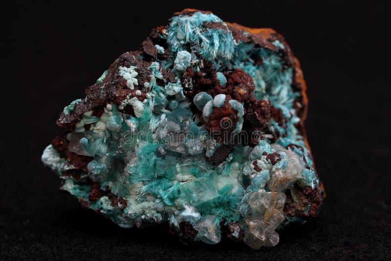 Fluorite - mineral foto de stock