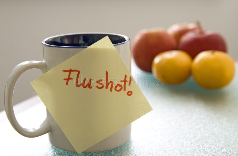 Flushot stockfotos