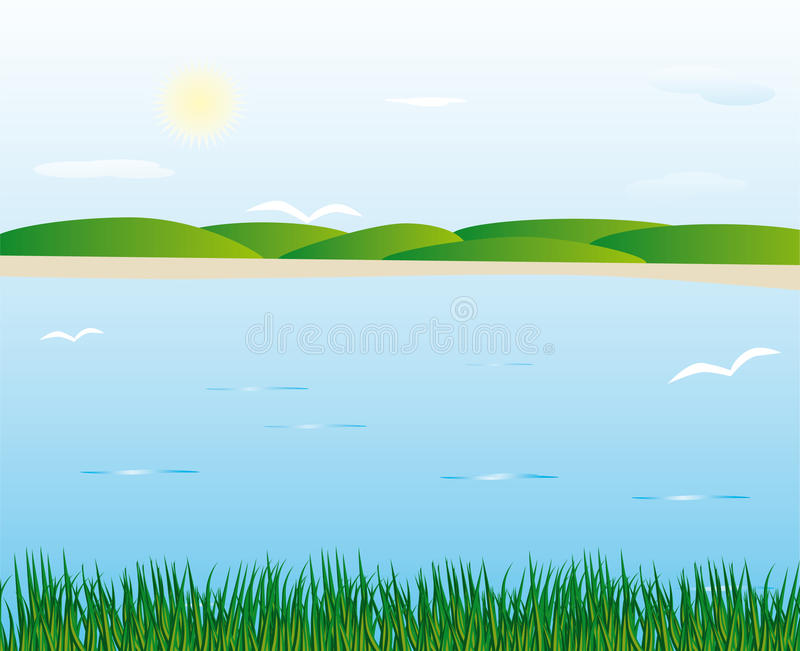 Fluss vektor abbildung